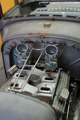 Aufhängung Motorhaube Hot Rod Deutschland Ford Model A Aluminium Karosserieteile Blechklopfer W. Schröder Feinblechner