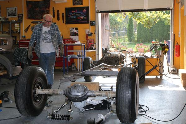 Hot Rod Deutschland Ford Mod. A Projekt Aufbau Karosserieteile Aluminium Blechteile Blechklopfer Feinblechner W. Schröder