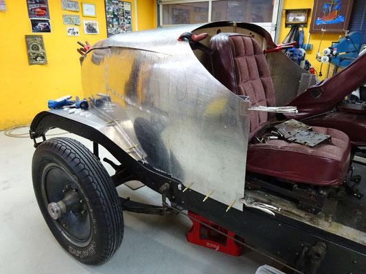 Packard 1929 Heck Aluminium Karosserie Rohlinge
