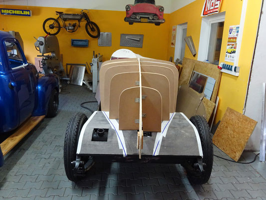 Packard 1929 Holzkonstruktion