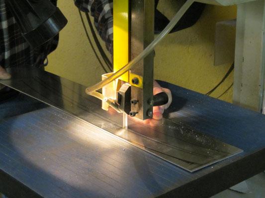 Dengeln Treiben Stauchen Blechbearbeitung Aluminium Fahrzeugteile Karosserie Blechklopfer W. Schröder Feinblechner
