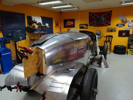 Packard 1929 Aufbau Aluminium Karosserie Rohlinge