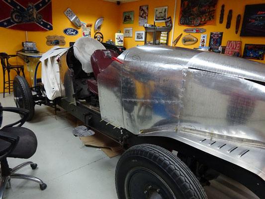 Packard 1929 Aufbau Aluminium Karosserie