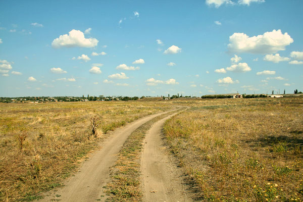 Road to Plyushchivka, Ukraine