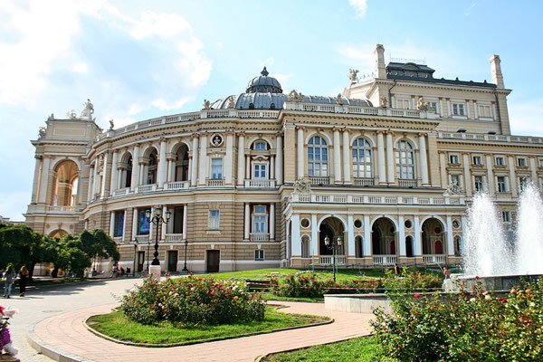 National Academic Theater of Opera and Ballet in Odessa, Ukraine