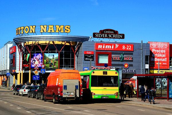 "Mall ""Ditton nams"" in Daugavpils, Latvia"