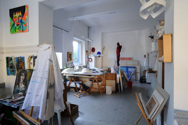 15 Atelier 2neun2, Übersicht Hauptraum