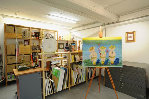 1 Kunstmagazin, Atelier Kimikunst