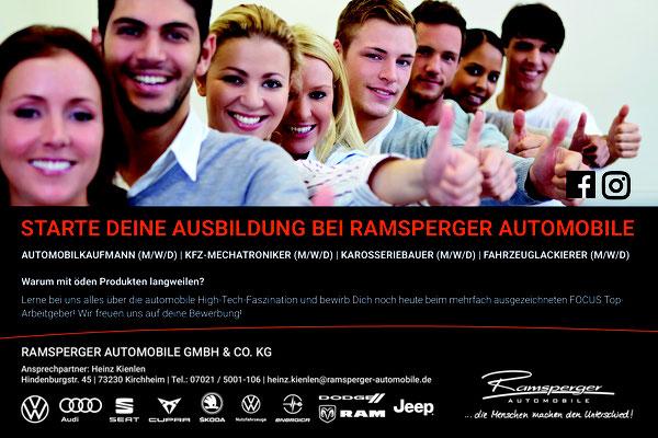 Ramsperger Automobile - Partner des Kirchheimer Musiknacht OPEN AIR 2021