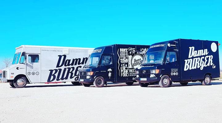 Die DAMN BURGER Trucks