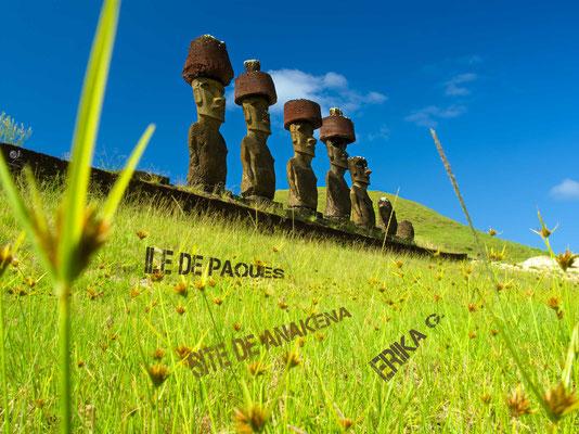 moai ile de paques