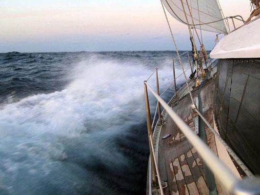 Wind auf dem Atlantik