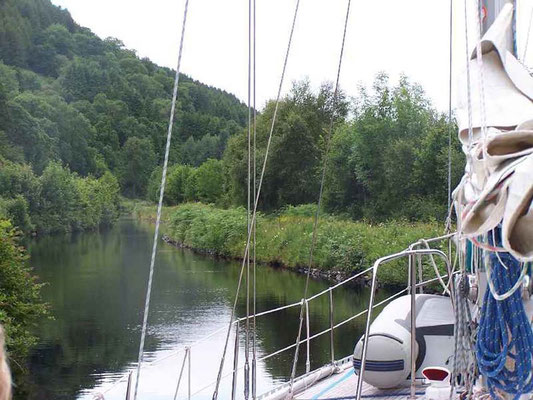 Crinan-Kanal in Schottland