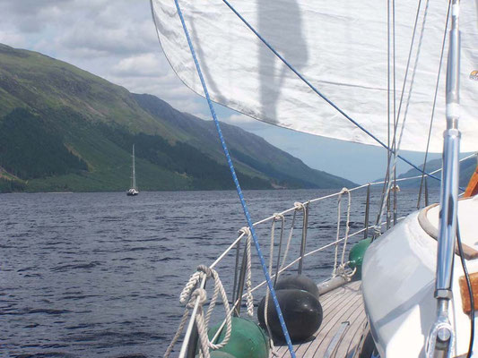 Segeln in Fjordnorwegen