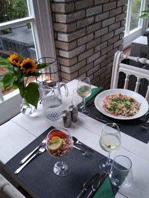 Romatic diner
