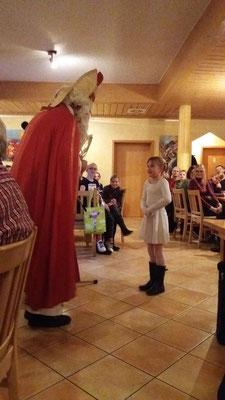 Der Weihnachtsmann war auch da ...