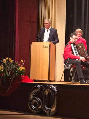 OB von Neckarsulm - vielen Dank für die großzügige Spende