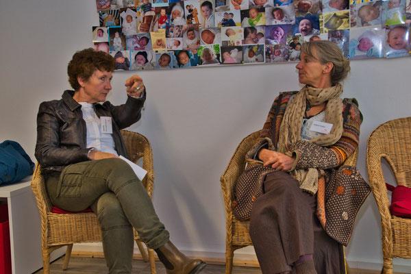 Gabriele Herrmann-Braun und Sabine Huber