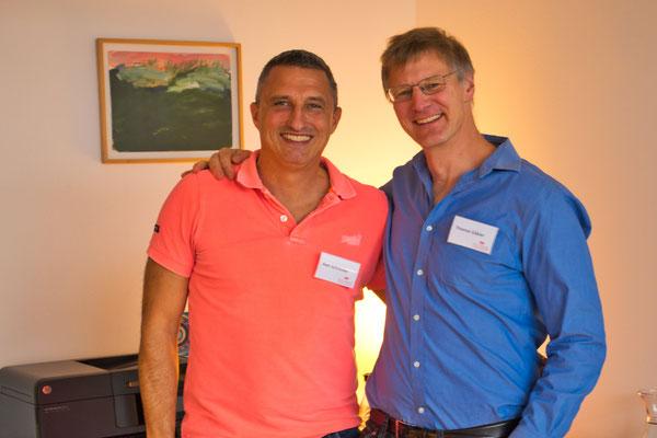 Axel Schrauder und Thomas Gäbler