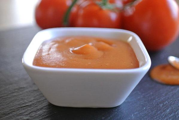 Grundrezept Ketchup aus frischen Tomaten