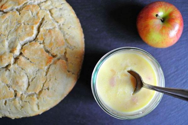 Apfel-Zwiebel-Brotaufstrich