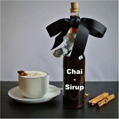Chai-Sirup - besonders ausgiebig (auch für Thermomix)
