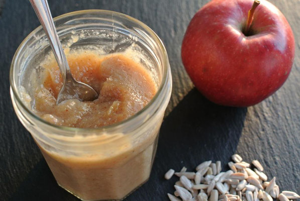 Nussige Apfelade (auch für Thermomix)