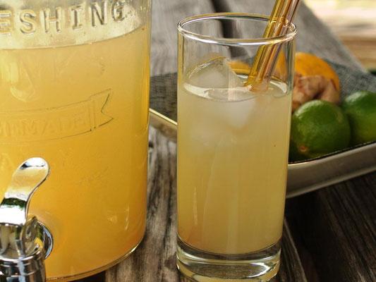 Limonaden-Sirup ohne Zucker - auch für Thermomi