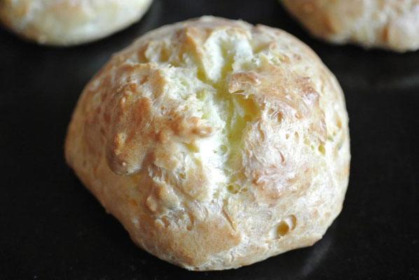Käse-Windbeutel - Fingerfood