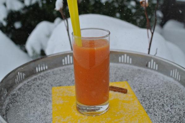 Orangen-Zimt-Smoothie mit Ingwer