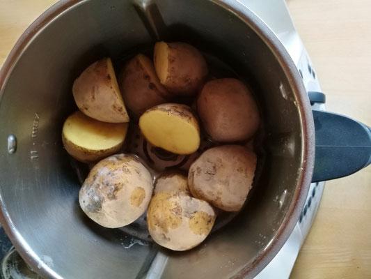 Mit dem Thermomix® Kartoffeln schälen [Werbung]