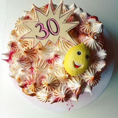 Geburtstagskuchen Sauer macht lustig
