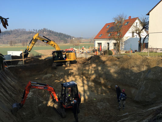 Baugrube Täfertingen 2016