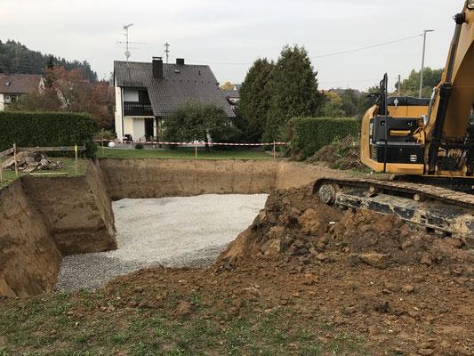 Baugrube Achsheim