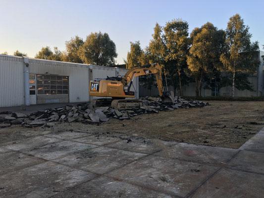 Rückbauarbeiten Gersthofen