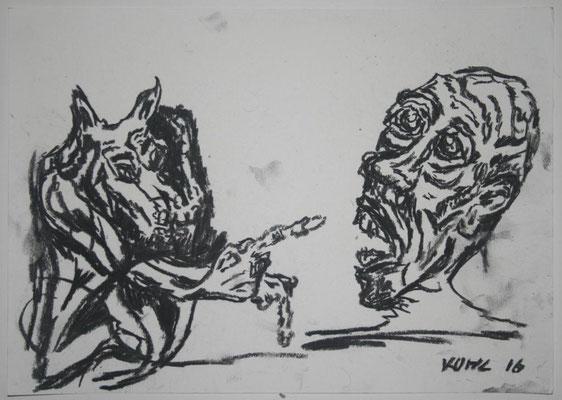 Obacht vor dem Hunde
