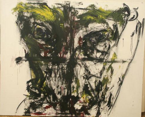 Ingrid neu, Öl auf Leinwand, 185x150cm