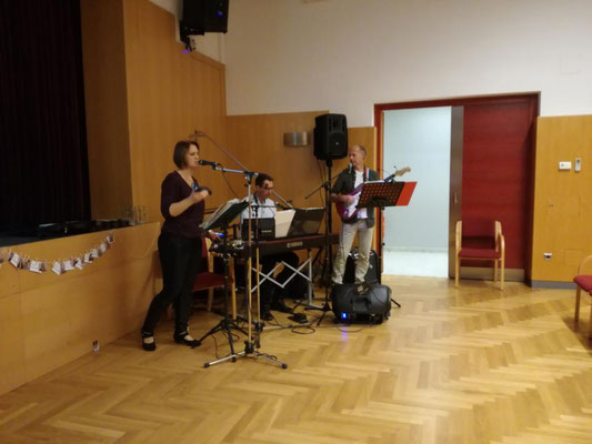 Marion Wanasky und Band