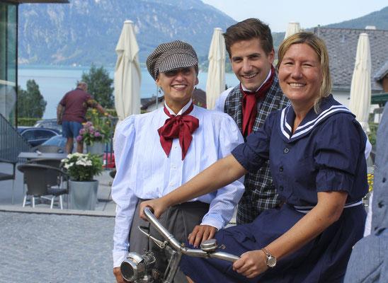 Mahler Festival 2017: Fahrradkleidung nach historischem Schnitt