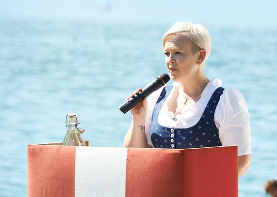 Bürgermeisterin Nicole Eder