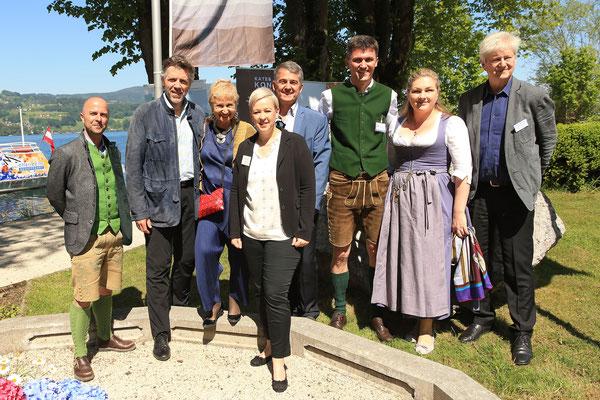 Christian Schirlbauer, Thomas Hampson, Marina Mahler, Nicole Eder, Morten Solvik, Georg Föttinger, Katharina Wolf, Rudolf Pietsch