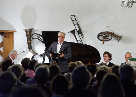 """""""Mahler und Brahms in Lied und Wort"""" Festival 2017 Herbert Lippert"""