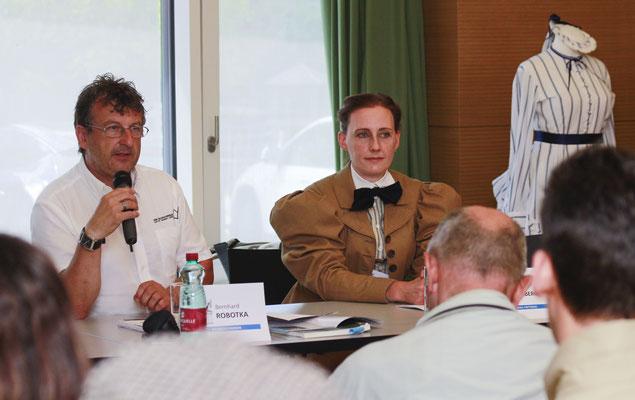 Mag. Bernhard Robotka, Dr. Rotraud Kohlberger