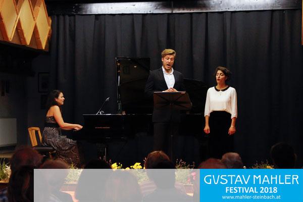 Deirdre Brenner (Klavier), Alexander York, Susan Zarrabi