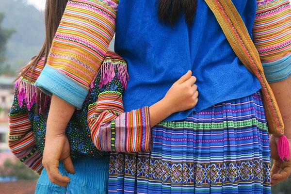 Costume de flower Hmong