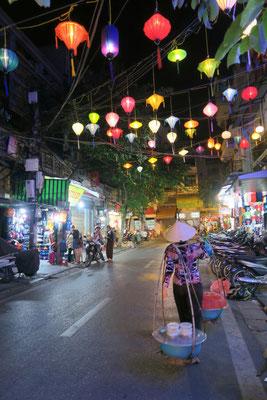 Les rues animées du vieux Hanoi