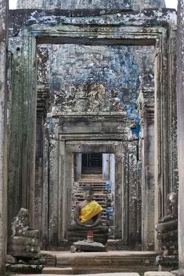 Bouddha dans le temple du Bayon