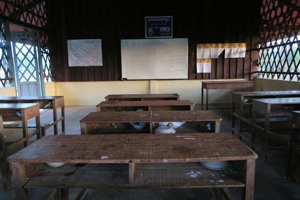 Salle de classe, Cambodge