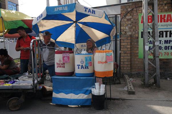Vente de lait fermenté