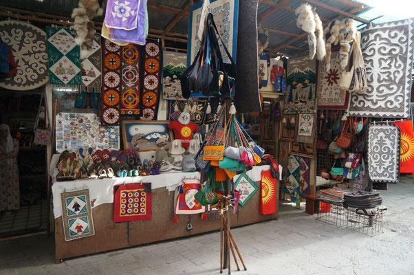 Osh bazar à Bishkek